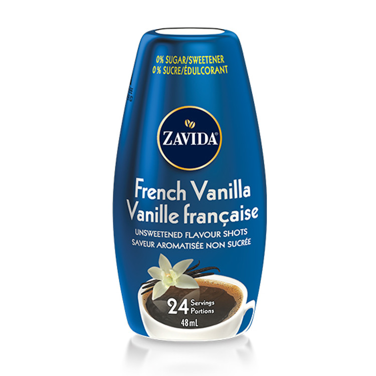 French Vanilla Flavour Shots To Go