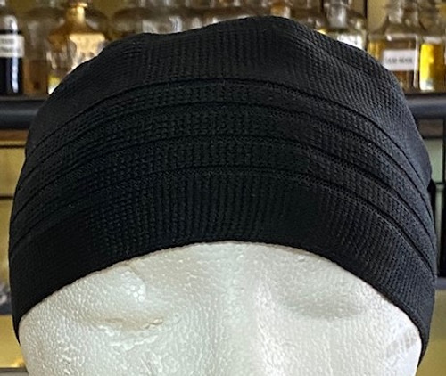 Kufi- (BLACK)- Indonesia Style (ONE SIZE FIT ALL )