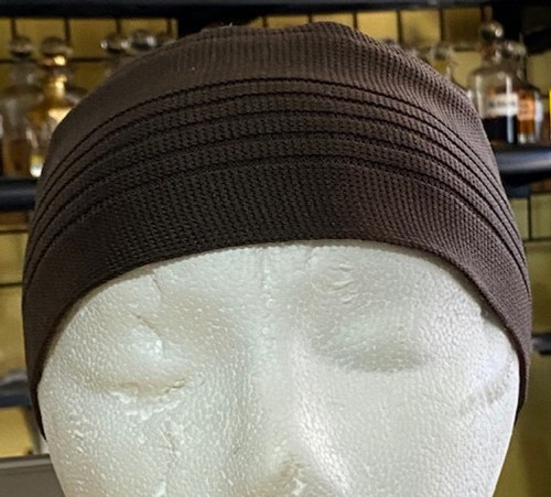Kufi- (BROWN)- Indonesia Style (ONE SIZE FIT ALL