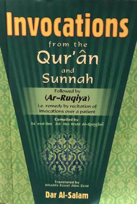INVOCATIONS FROM QUR'AN & SUNNAH Followed By (AR-RUQIYA) / Pocket Size-Softback) BY DAR MAKKAH INTL.