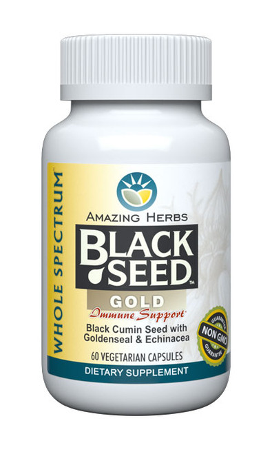 Black Seed Gold Black Seed, Goldenseal & Echinacea