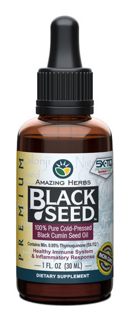 Premium Black Seed Oil - 1oz
