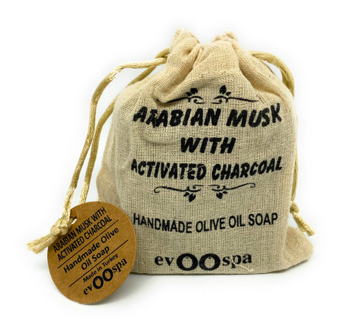 Arabian Musk with Activated Charcoal – Olive Oil Soap