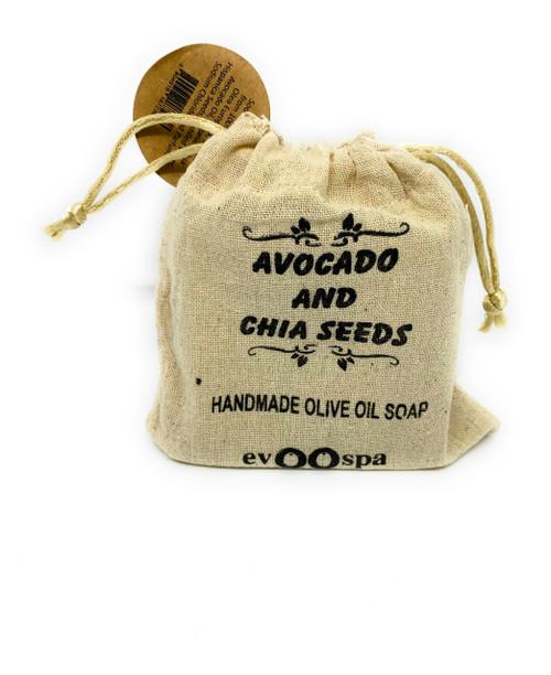 Avocado & Chia Seeds – Olive Oil Soap