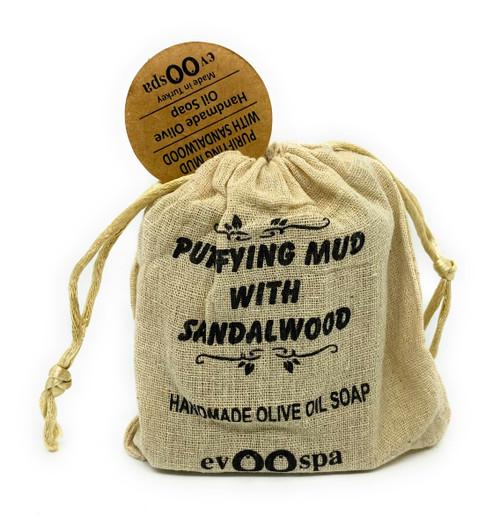 Purifying Mud with Sandalwood – Olive Oil Soap