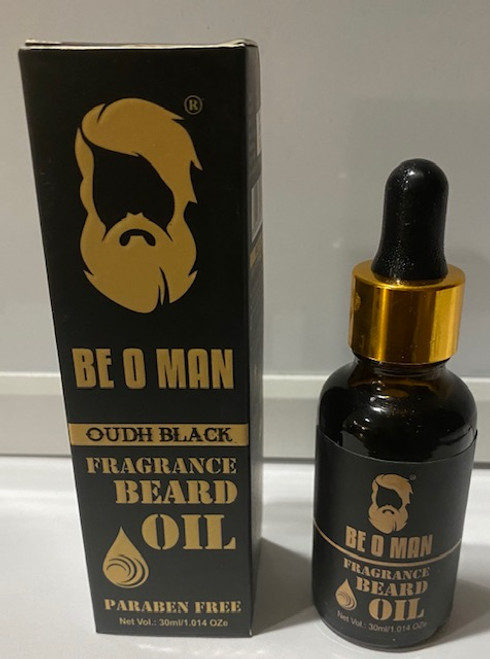 Be O Man / Beard Oil (Fragrance Oudh Black)