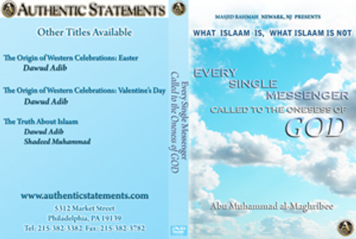 Every Single Messenger called to the oneness of God by Abu Muhammad al-Maghribi