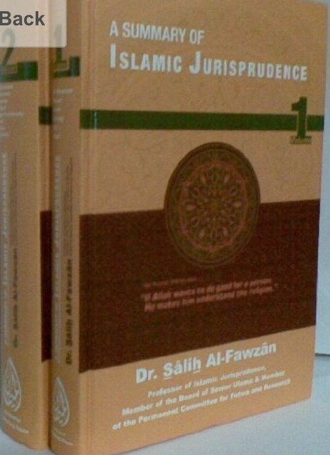 A Summary Of Islamic Jurisprudence By Dr.Saalih Al-Fawzaan[2 Vol.Set]