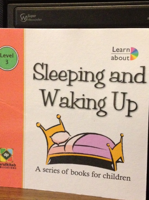 Sleeping and Waking Up by Darul kitab Publications