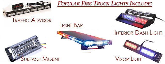 Popular Fire Truck Lights