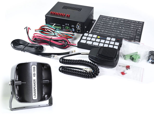 Multifunction Siren and Rugged Speaker