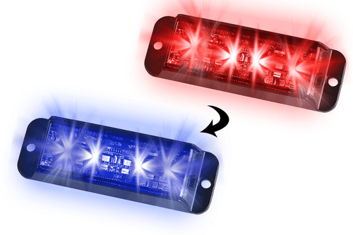 Dual Color Signature Series LED Grille and Surface Mount Lights