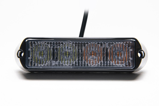 Extreme Tactical Dynamics Undercover 4 TIR LED Grille and Surface Mount Lights