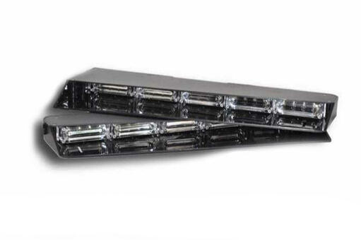 Extreme Tactical Dynamics Stealth 4 Linear LED Visor Light Bar