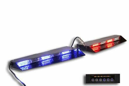 Extreme Tactical Dynamics Stealth Commander 9 Linear LED Visor Light Bar