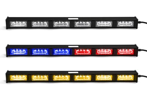 Extreme Tactical Dynamics Chameleon 6 Linear Dual Color LED Traffic Advisor Light Bar