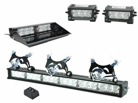 Extreme Tactical Dynamics ETD Basic Centari 60 LED Emergency Vehicle Light Bundle