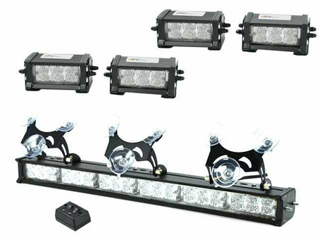 Extreme Tactical Dynamics ETD Collection Centari 60 LED Emergency Vehicle Light Bundle