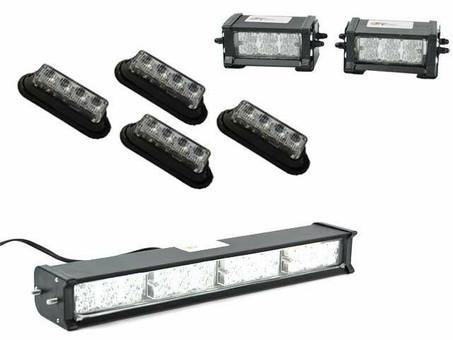 Extreme Tactical Dynamics ETD G-Centari 48 LED Emergency Vehicle Light Bundle