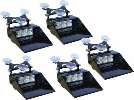 Extreme Tactical Dynamics Ranger Mini TIR LED Dash Light 5 Piece Multi-Pack