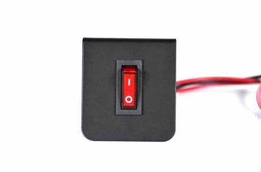 Extreme Tactical Dynamics Rocker One Single Toggle Switch Plate For Emergency Vehicle Lighting