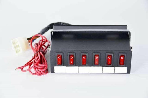 Extreme Tactical Dynamics Mini Mega Power Switch Box For Emergency Vehicle Lighting