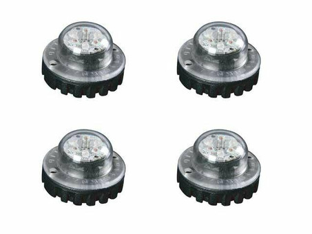 Extreme Tactical Dynamics ANT 6-3 Hideaway LED Strobe Light 4 Piece Multi-Pack