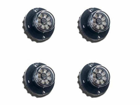 Extreme Tactical Dynamics Hideaway 8 LED Strobe Light 4 Piece Multi-Pack