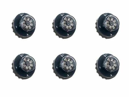 Extreme Tactical Dynamics Hideaway 8 LED Strobe Light 6 Piece Multi-Pack