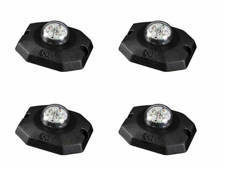 Extreme Tactical Dynamics ANT 6-6 Hideaway LED Strobe Light 4 Piece Multi-Pack