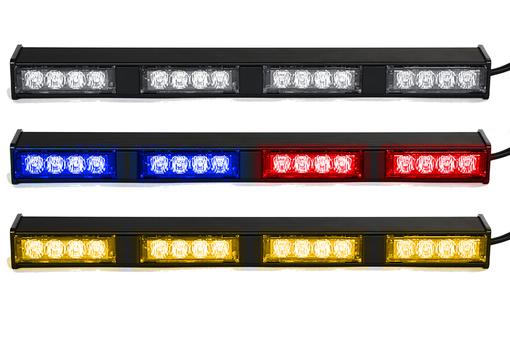 Extreme Tactical Dynamics Chameleon 4 TIR Dual Color LED Traffic Advisor Light Bar