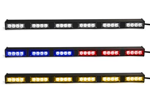 Extreme Tactical Dynamics Chameleon 6 TIR Dual Color LED Traffic Advisor Light Bar