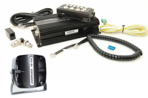 Extreme Tactical Dynamics Remote Siren and Rugged Speaker Bundle