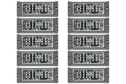 Extreme Tactical Dynamics E-24 SMD LED Grille and Surface Mount 10 Piece Multi-Pack