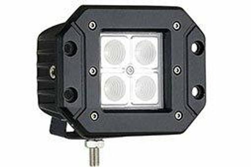 Extreme Tactical Dynamics Velocity 4 Spot Light Flush Mount Off Road LED Light