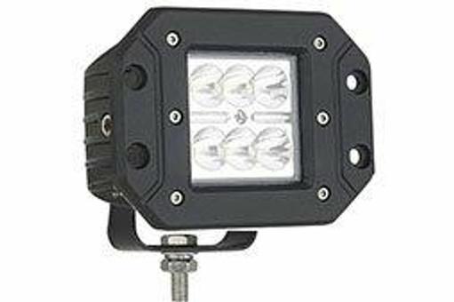 Extreme Tactical Dynamics Velocity 6 Flood Light Flush Mount Off Road LED Light