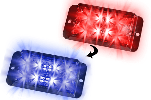 Extreme Tactical Dynamics Signature 4 DS Dual Color Linear LED Grille and Surface Mount Light