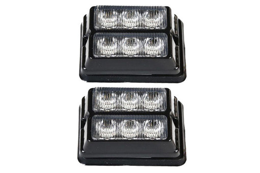 Extreme Tactical Dynamics Undercover 3 DS TIR LED Grille and Surface Mount Light 2 Piece Multi-Pack