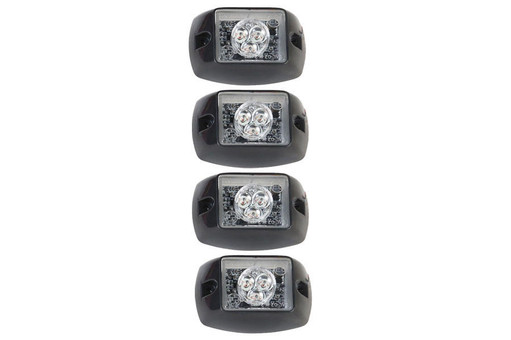 Extreme Tactical Dynamics Halo ONE TIR LED Grille and Surface Mount 4 Multi-Pack