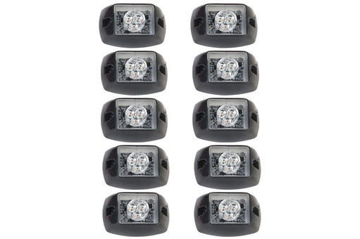 Extreme Tactical Dynamics Halo ONE TIR LED Grille and Surface Mount 10 Multi-Pack