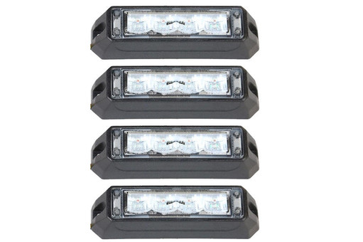 Extreme Tactical Dynamics C-4 Reflex LED Surface Mount 4 Multi-Pack