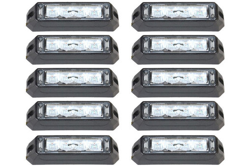 Extreme Tactical Dynamics C-4 Reflex LED Surface Mount 10 Multi-Pack