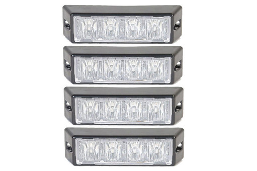 Extreme Tactical Dynamics Halo 4 TIR LED Grille and Surface Mount 4 Multi-Pack