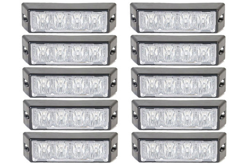 Extreme Tactical Dynamics Halo 4 TIR LED Grille and Surface Mount 10 Multi-Pack