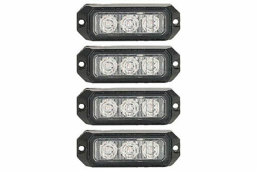 Extreme Tactical Dynamics Elemental 3 TIR Grille and Surface Mount 4 Multi-Pack