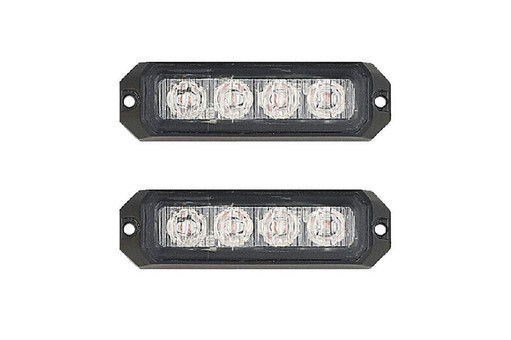 Extreme Tactical Dynamics Elemental 4 TIR LED Grille and Surface Mount Light 2 Multi-Pack