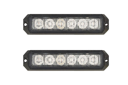 Extreme Tactical Dynamics ELEMENTAL 6 TIR LED Grille and Surface Mount Light 2 Multi-Pack