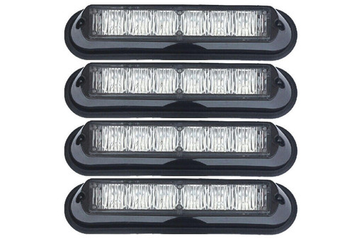 Extreme Tactical Dynamics Undercover 6 TIR LED Surface and Grille Mount Light 4 Multi-Pack