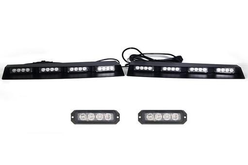 Extreme Tactical Dynamics Elemental 40 TIR LED Visor Light Bar with 1 Pair Elemental 4