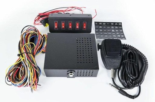 Extreme Tactical Dynamics 200 Watt Toggle Police and Emergency Vehicle Siren
